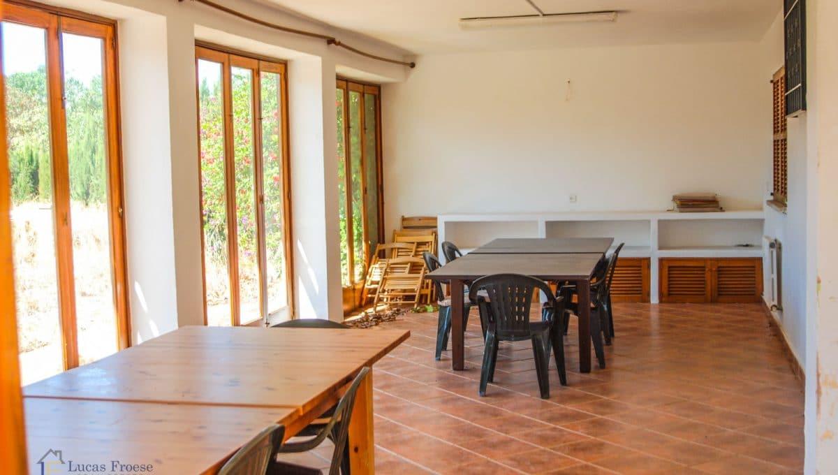 Mallorca-Consell-Finca-Wintergarten-Porche-Fensterfront