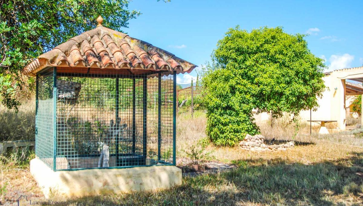 Consell-Finca-Anwesen-Vogelvoliere