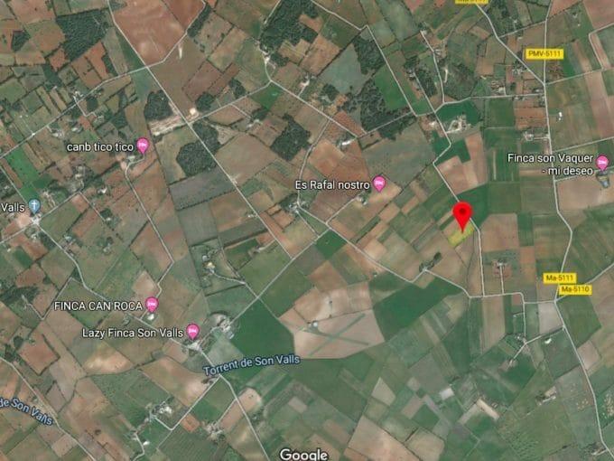 Google maps Screenshot Grundstück Felanitx