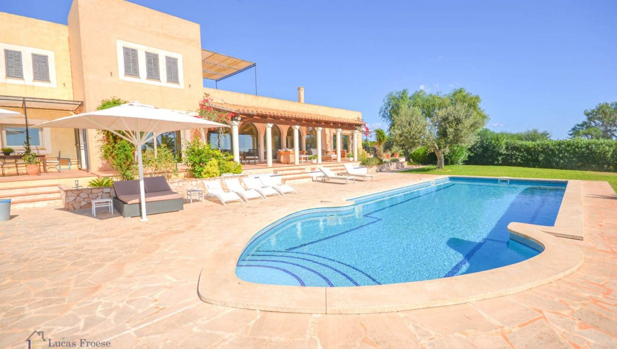 Swimmingpool Mallorca Finca S'horta
