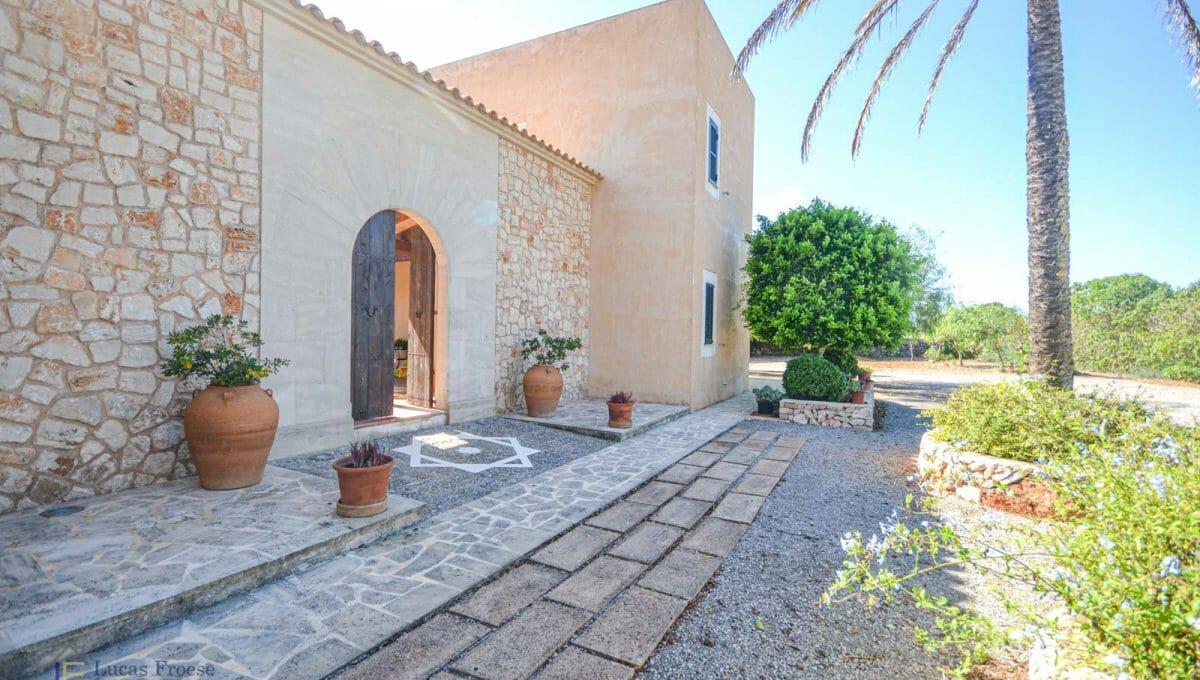 Finca S'horta Eingang Mallorca