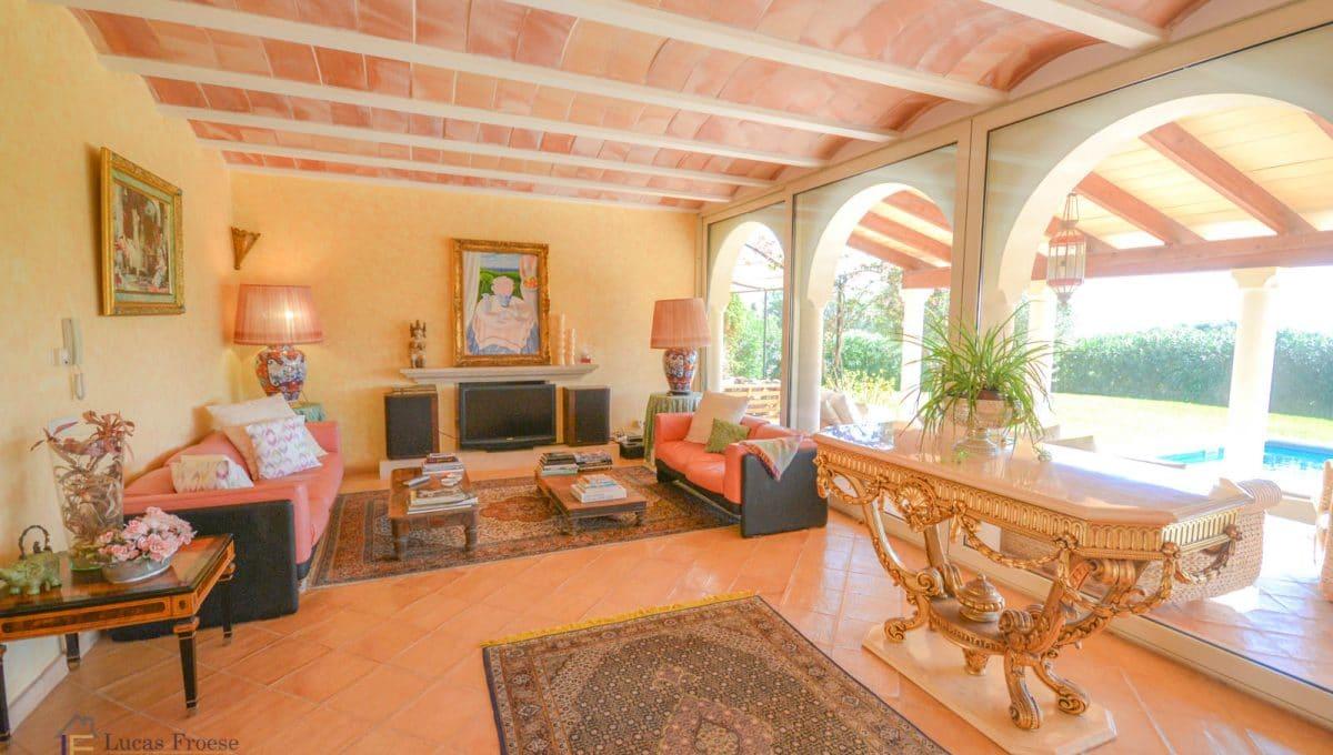 Wohnzimmer Finca S'horta Luxus