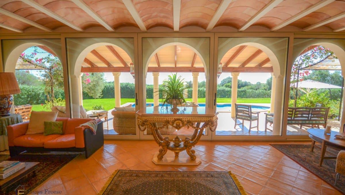 Finca S'horta Luxus Wohnzimmer