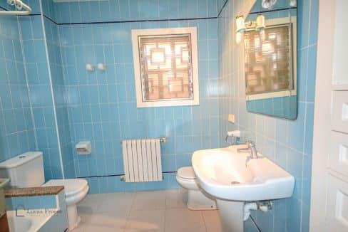 Portocolom Haus Badezimmer in Blau