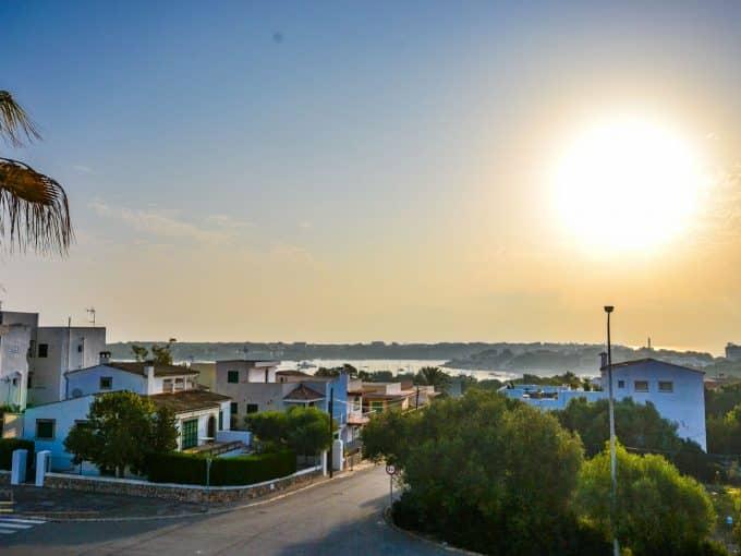 Immobilie Portocolom Terrasse Aussicht
