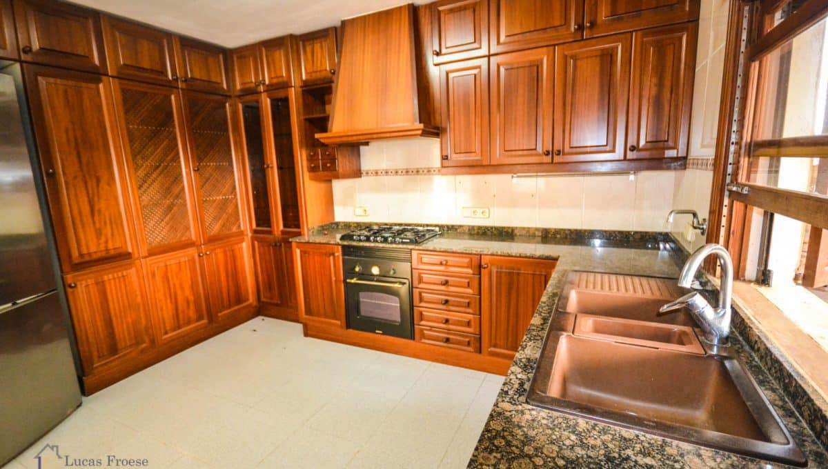 Küche Immobilie Portocolom Holz