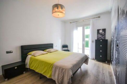 Modernes Stadthaus Felanitx Schlafzimmer