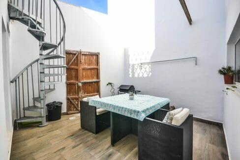 Modernes Stadthaus Felanitx Patio