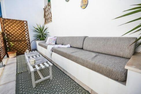 Modernes Stadthaus Felanitx Terrasse