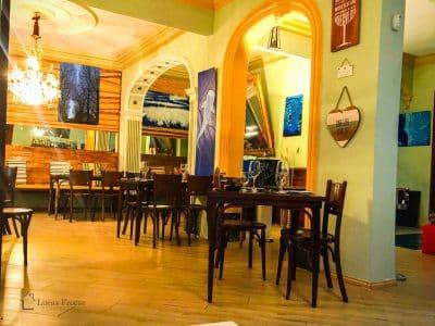 LF0096 Restaurant Raumaufteilung Saal
