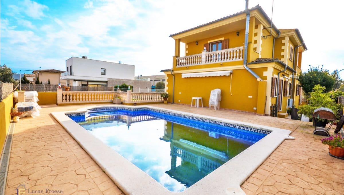 Manacor Chalet mit Swimmingpool und Garten