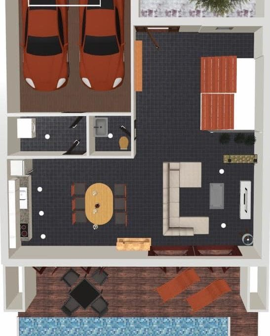 Felanitx Stadthaus mit Pool Projekt