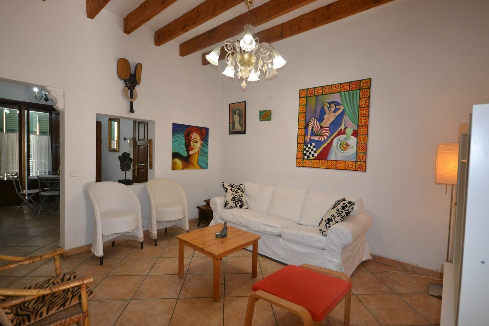 Charmante Wohnung mit Balkon in Santa Catalina (Palma)