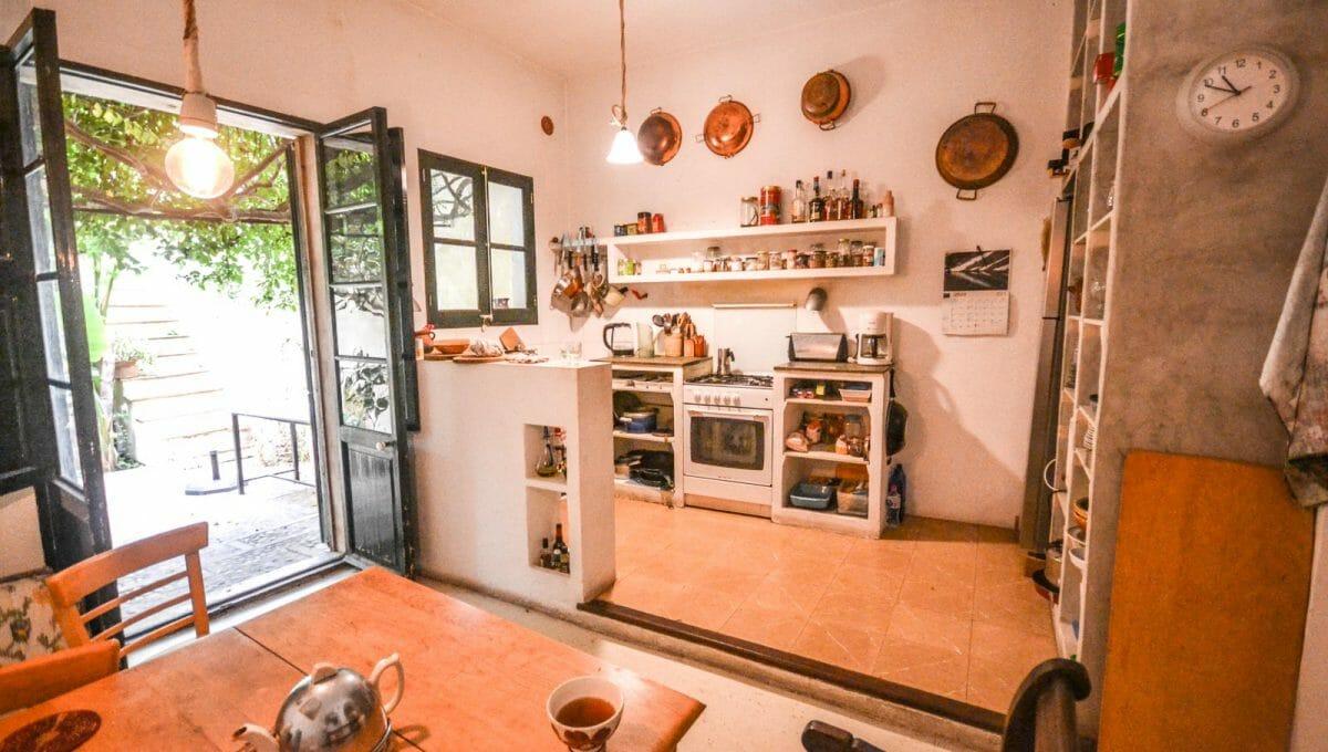 Charmantes Esszimmer und Küche Felanitx Mallorca