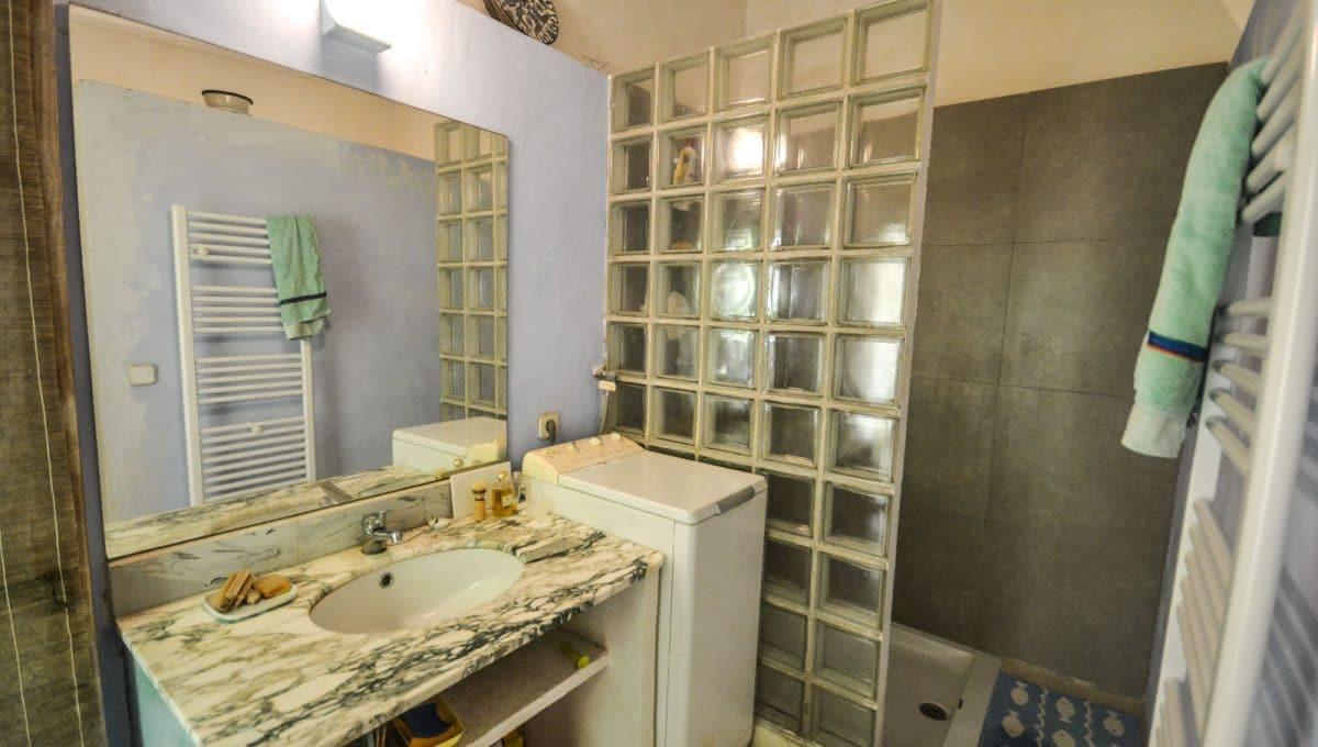 Äußeres und nettes Badezimmer Felanitx Mallorca