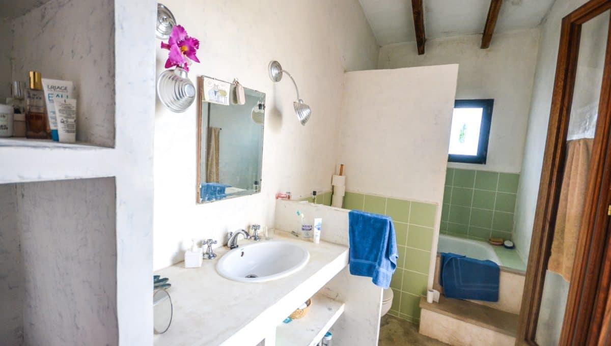 Typisches Haupt Badzimmer Felanitx Mallorca