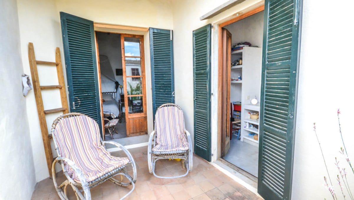 Ruhige und Typische Terrasse Felanitx Mallorca