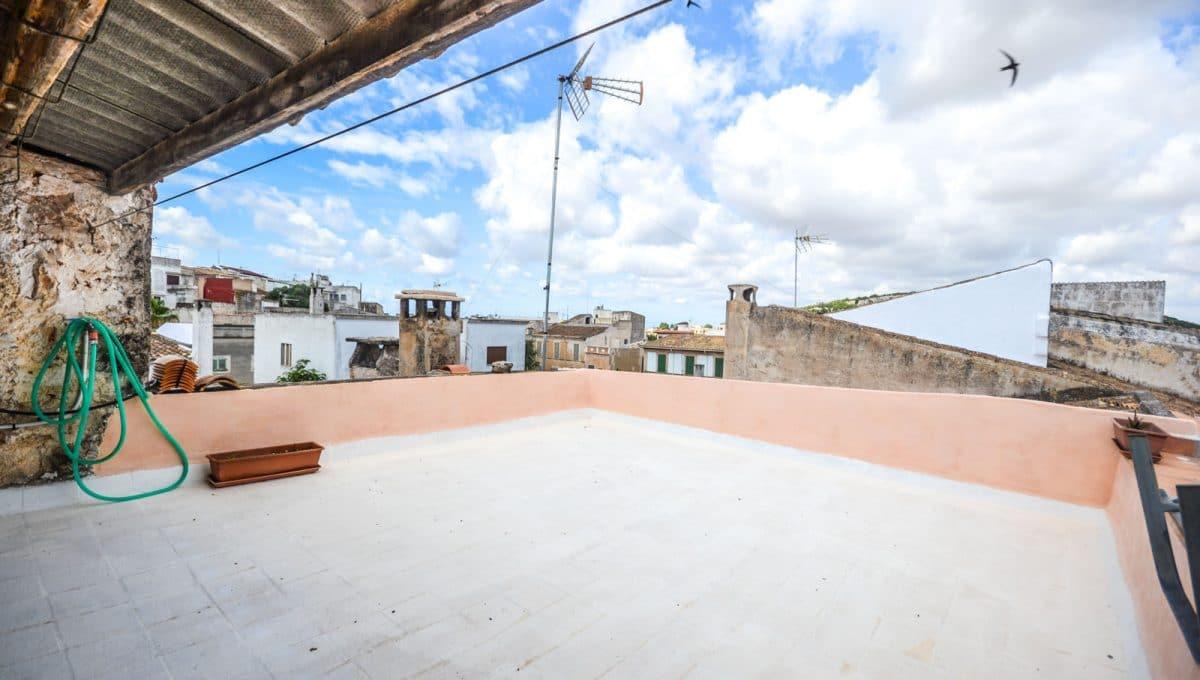 Große Terrasse mit Blicke aus Felanitx Mallorca