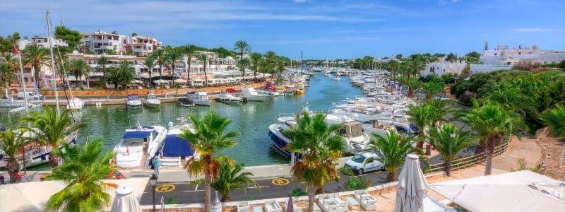 Cala d'Or Hafen Mallorca
