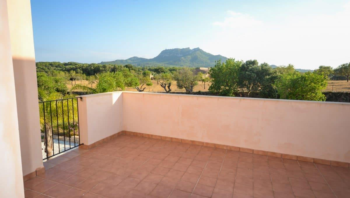 Terrasse mit Aussicht Landhaus Felanitx