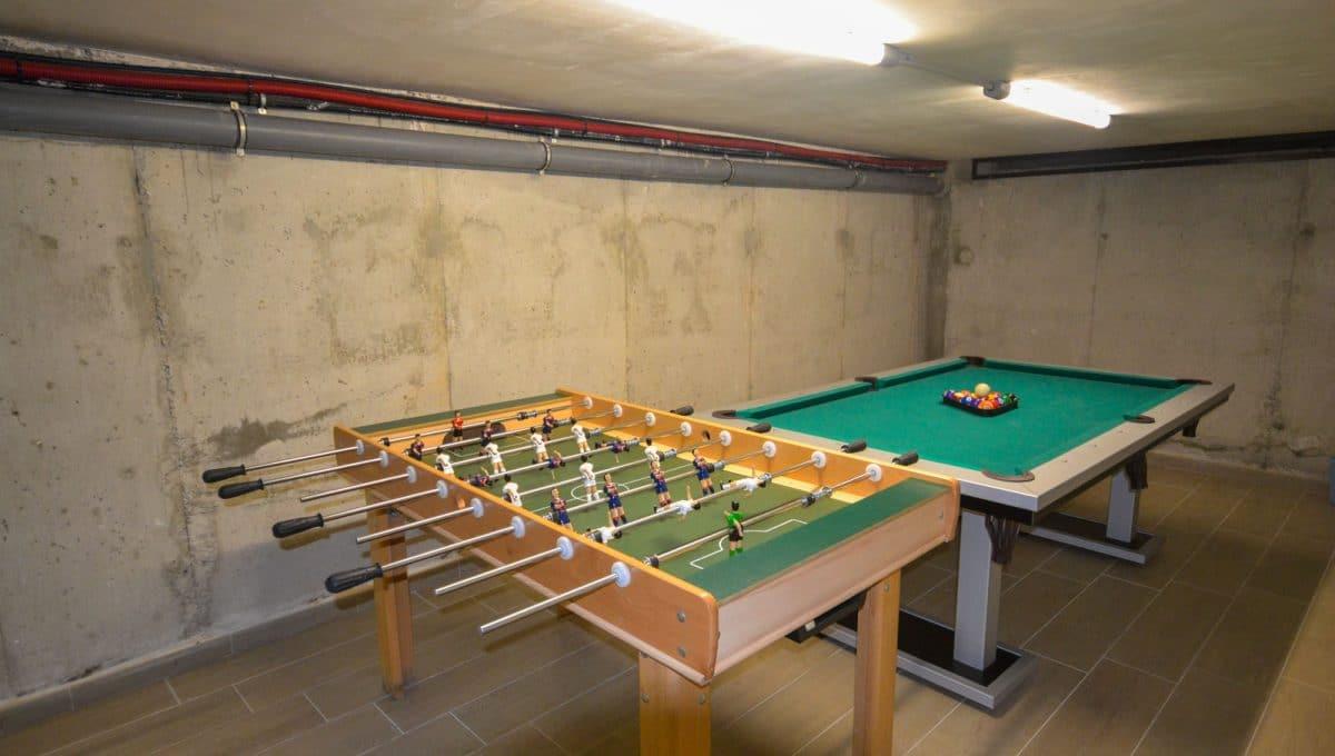 Billard und Tischfußball in die Spielwiese Felanitx