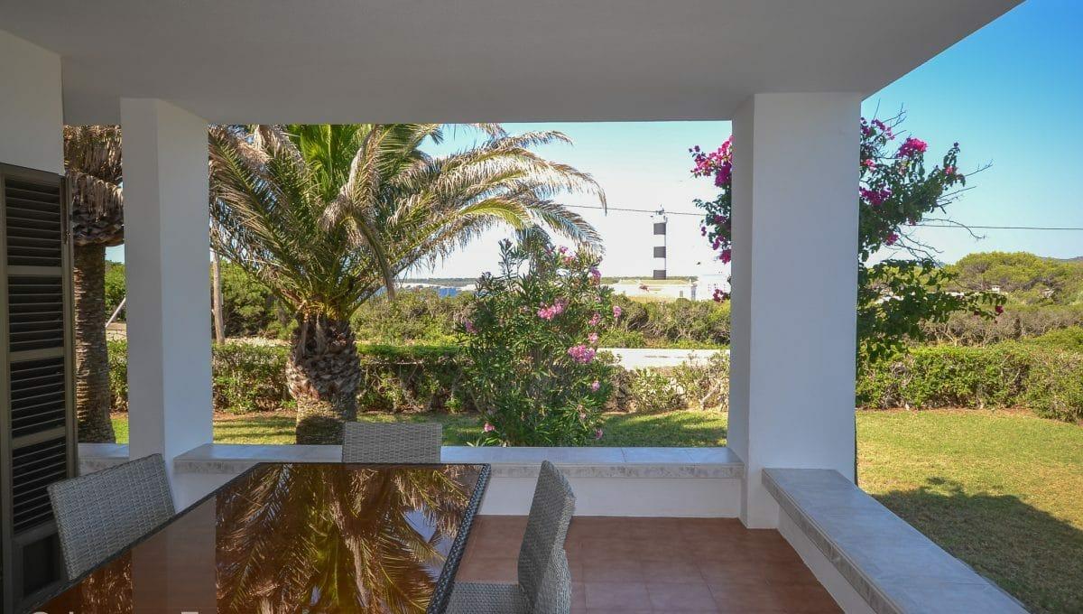 Garten mit mallorquinische Pflanzen und Meerblick Mallorca