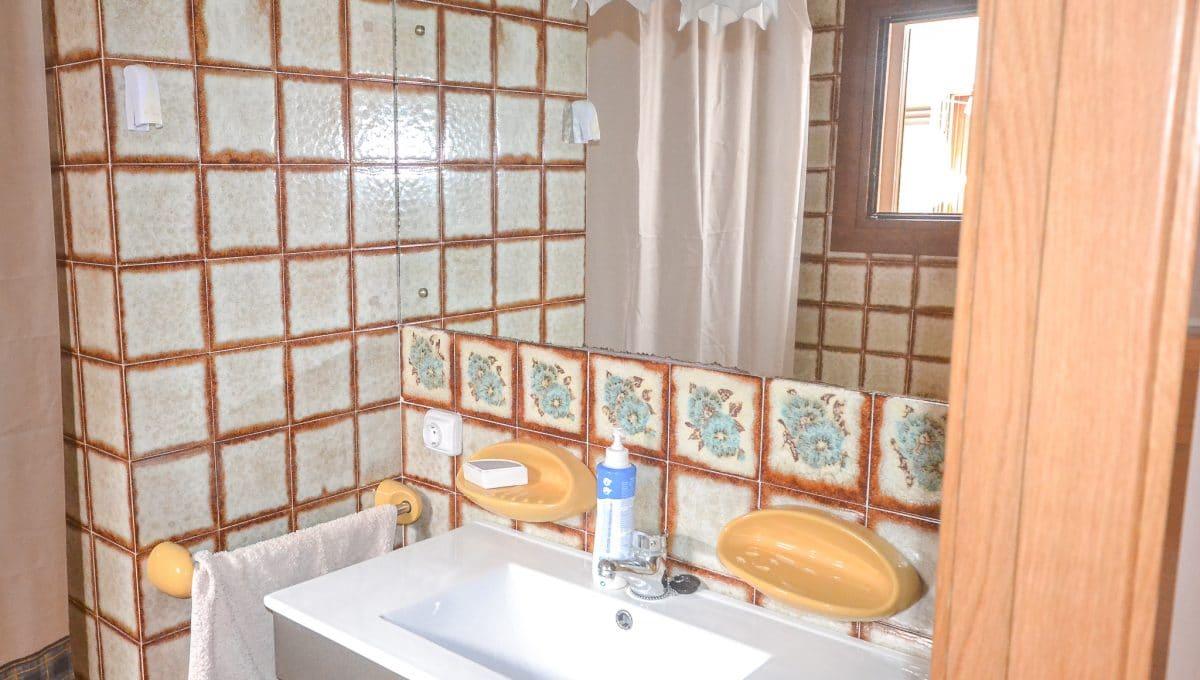 Charmantes und helles Badezimmer Portocolom Mallorca