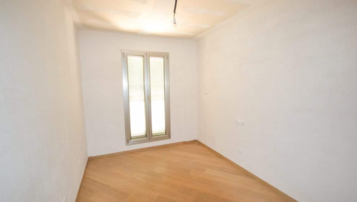 Schlafzimmer mit Parkett Wohnung Felanitx Mallorca