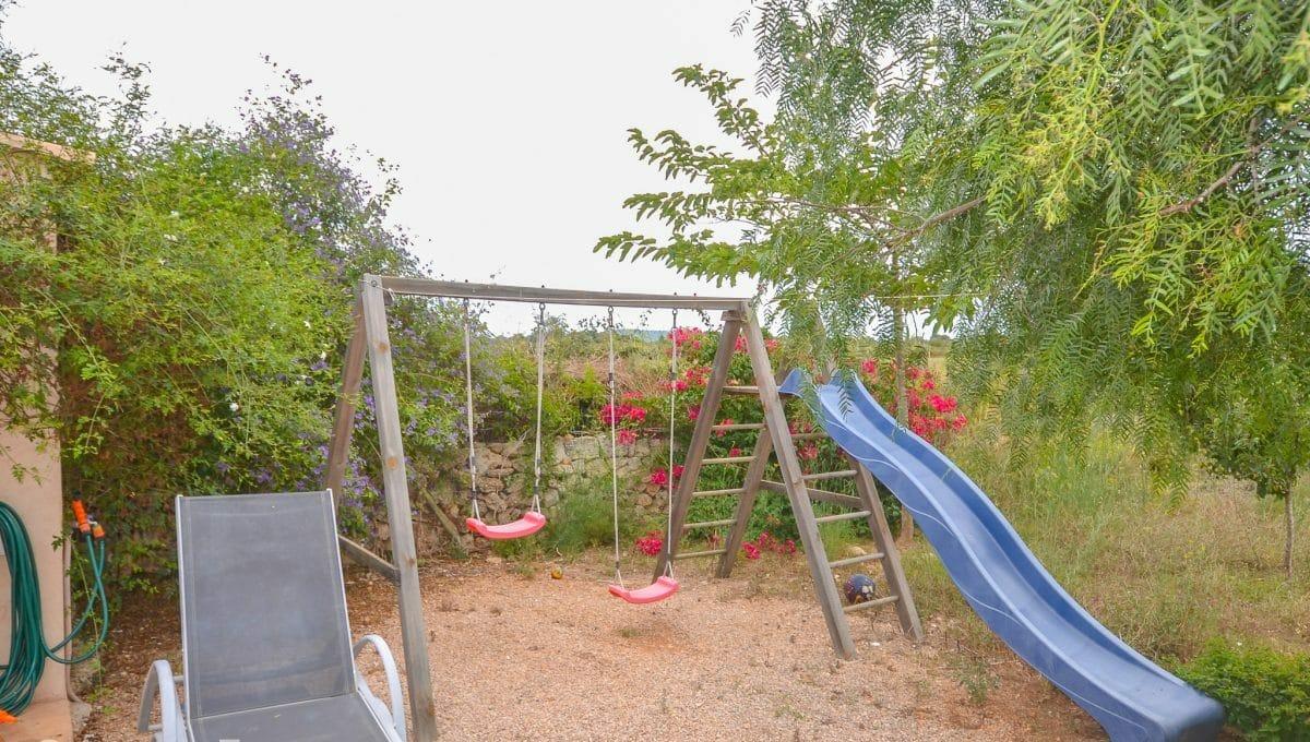 Spielplatz für Kinder Landhaus Felanitx Mallorca