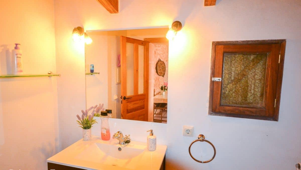 Chamantes Badezimmer Landhaus Felanitx Mallorca