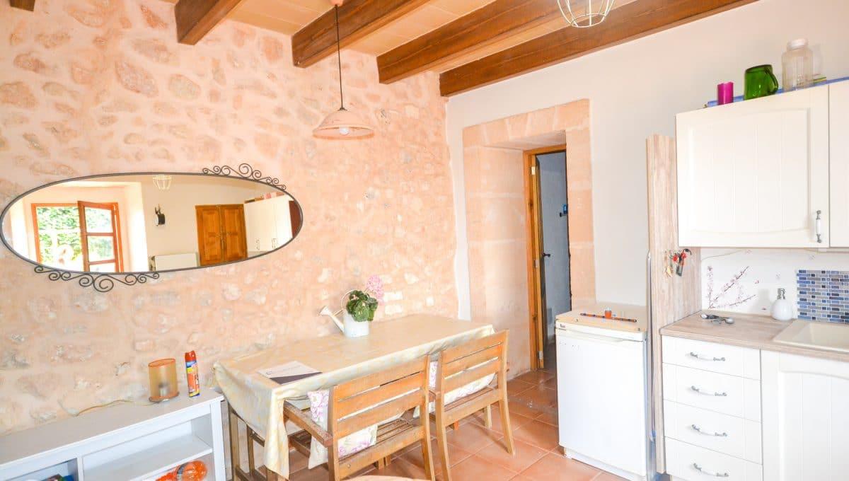 Helles Esszimmer Landhaus Felanitx Mallorca