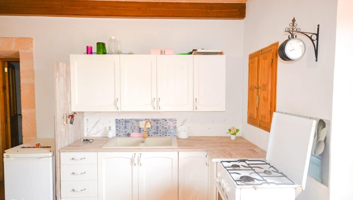 Praktische und charmante Küche Landhaus Felanitx