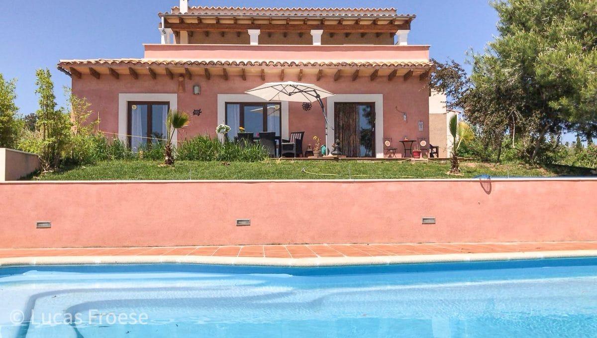 Wohnung mit großes Schwimmbad Sant Llorenç Mallorca