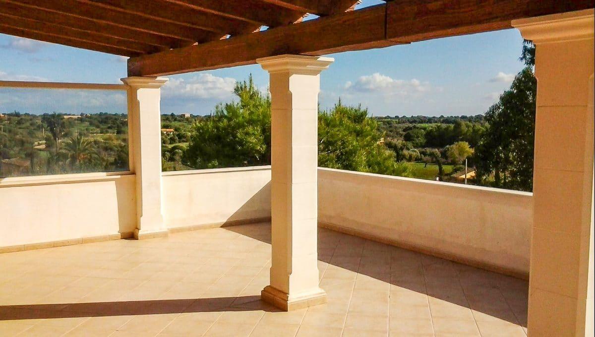 Schöner Blick Wohnung Sant Llorenç Mallorca