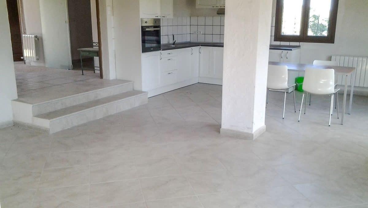 Küche und Esszimmer Wohnung Sant Llorenç Mallorca