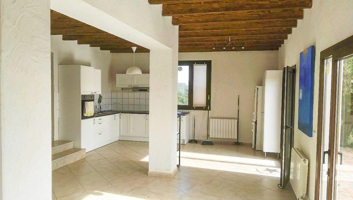 Eingang küche und esszimmer typischer Wohnung Mallorca
