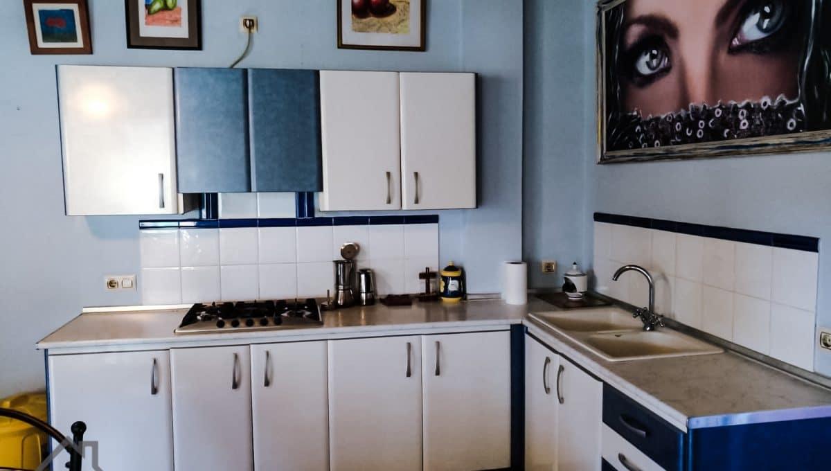 praktische Küche ohne viel Detail