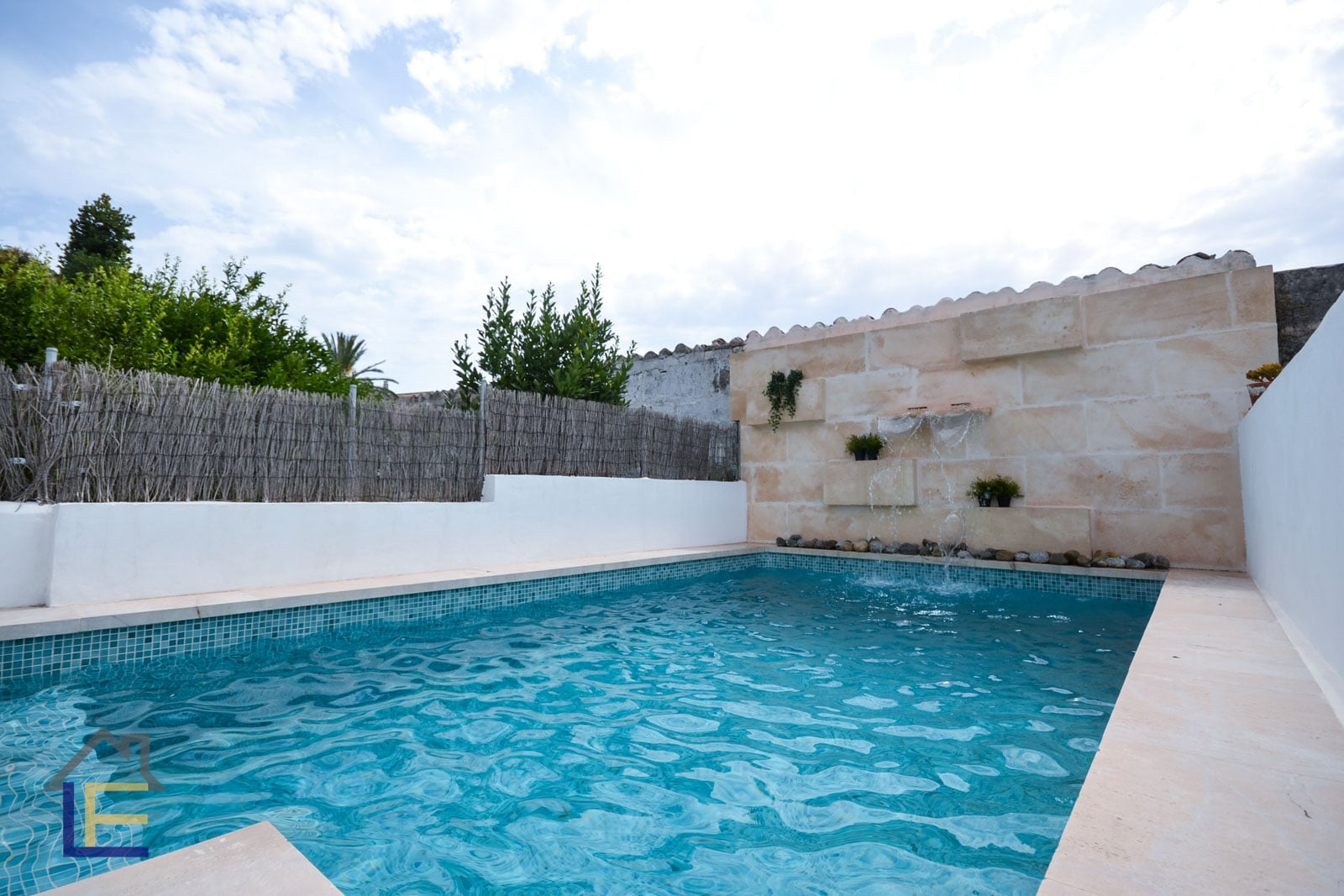 Renovated house with pool in the inner courtyard in Felanitx