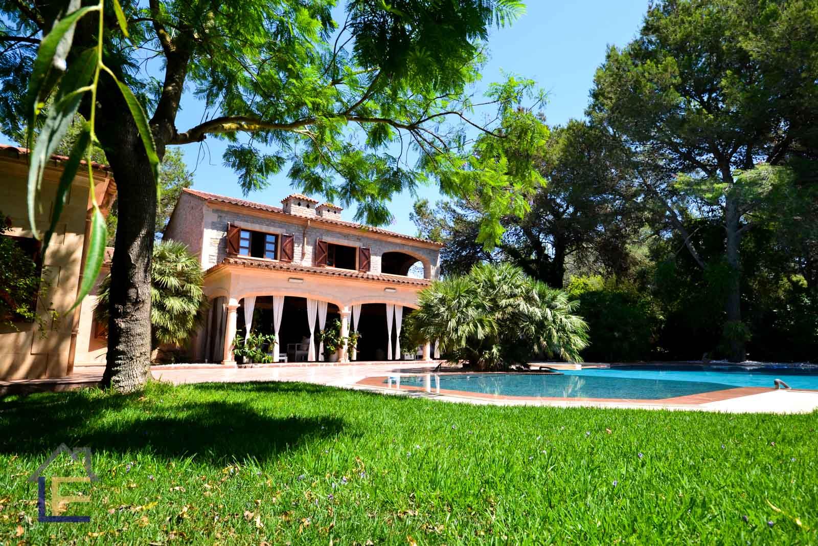 Luxus Finca mit ETV Lizenz und ein Traumgarten