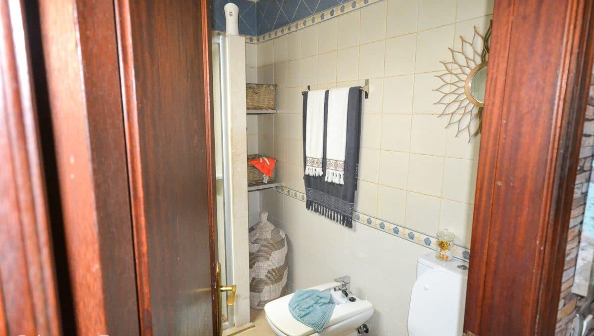 Modernes Badezimmer Wohnung Zentrum Felanitx