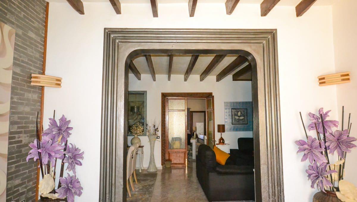 Moderner Eingang Wohnung Felanitx Mallorca