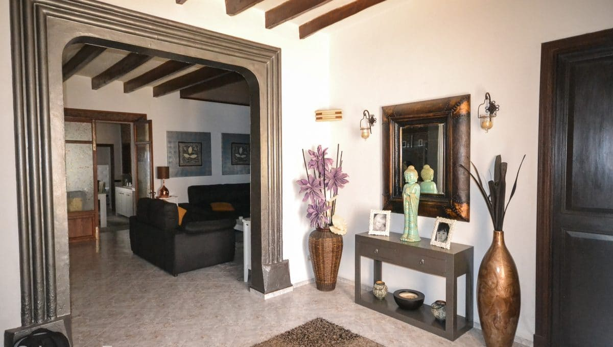 Eingang Zentrum Wohnung Felanitx Mallorca