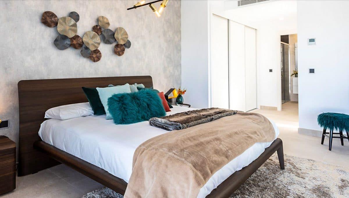 Minimalistische Schlaffzimmer in sa rapita
