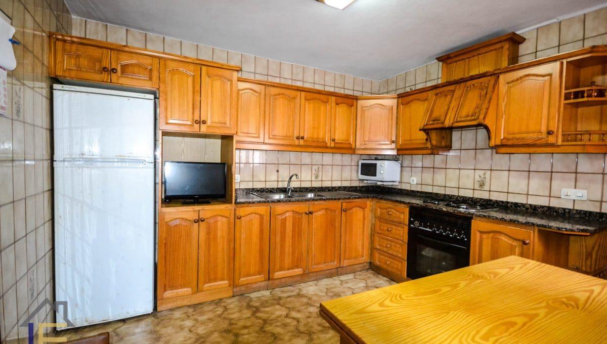 geräumige und helle Küche in Felanitx