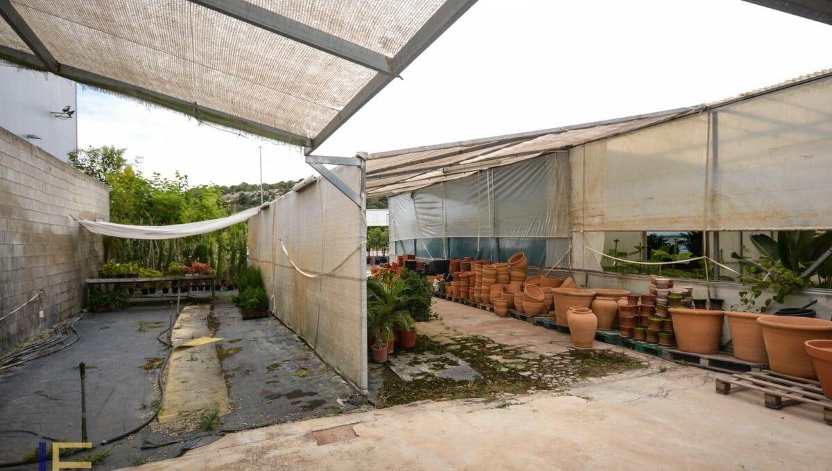 Gewächshäuser für landwirtschaftliche Aktivitäten in Felanitx