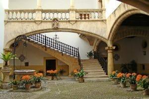 Typischer Innenhof Mallorca