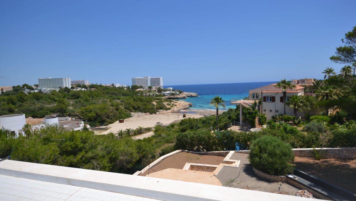 Villa mit Blick auf den Strand