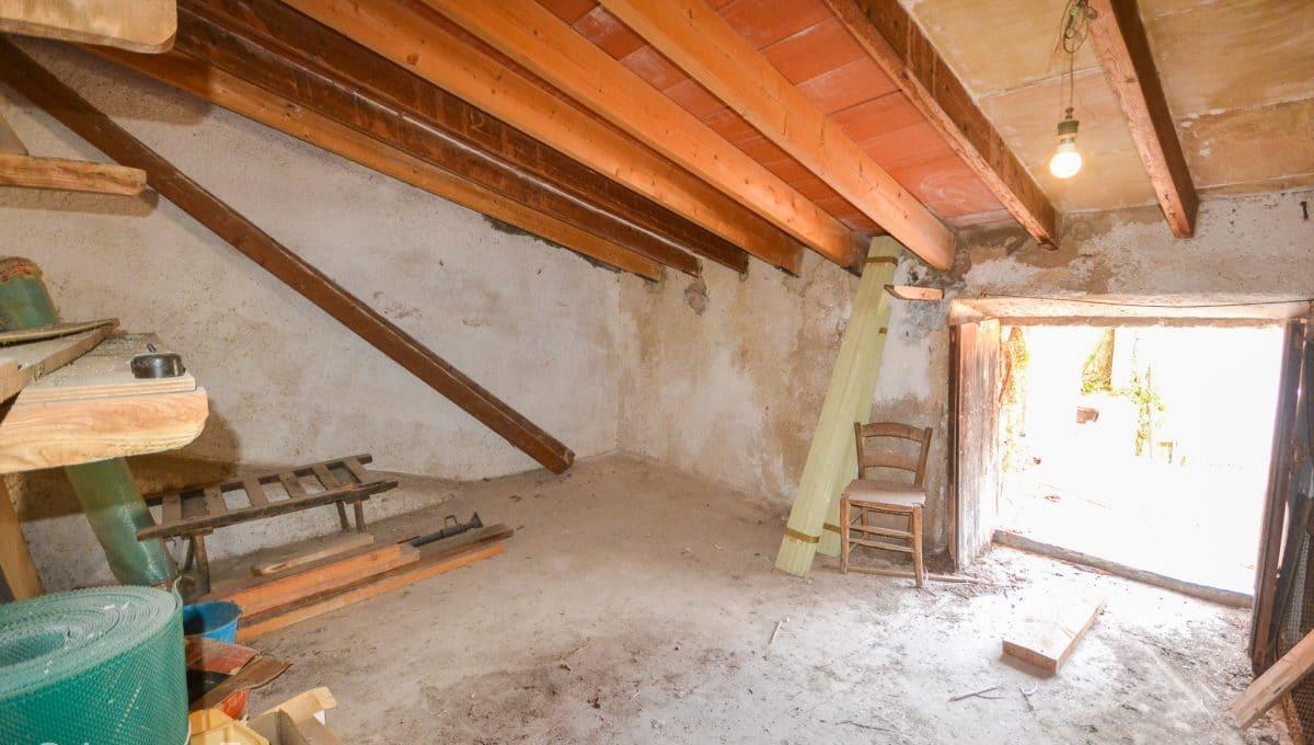 Alter Raum Mallorquinische Wohnung Felanitx