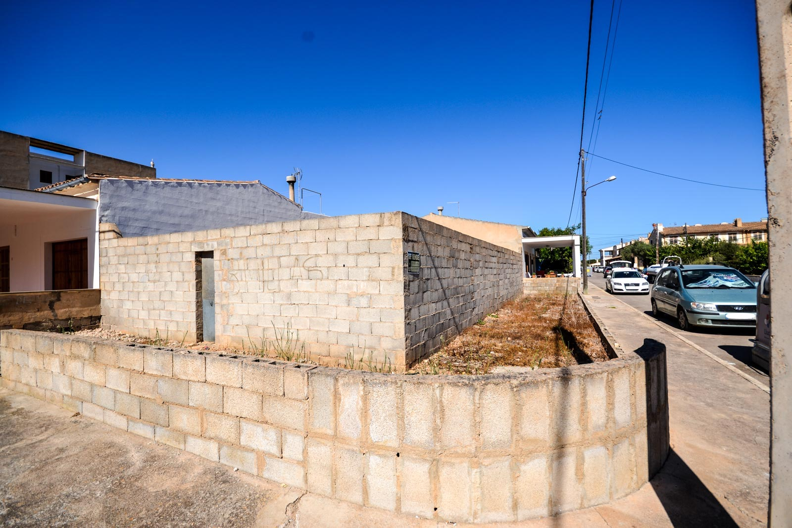 Building plot 200 meters from the sea in S'Estanyol