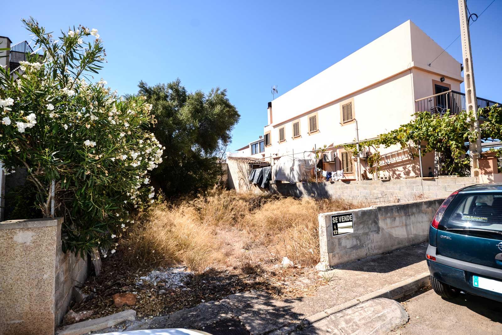 Baugrunstück 400 Meter von der Küste entfernt in Sa Ràpita